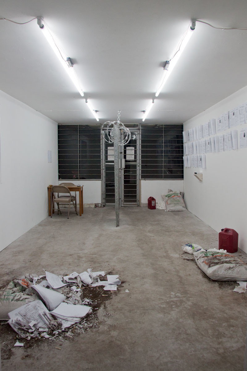 To Preserve Disorder (with Joaquin Segura), 2012